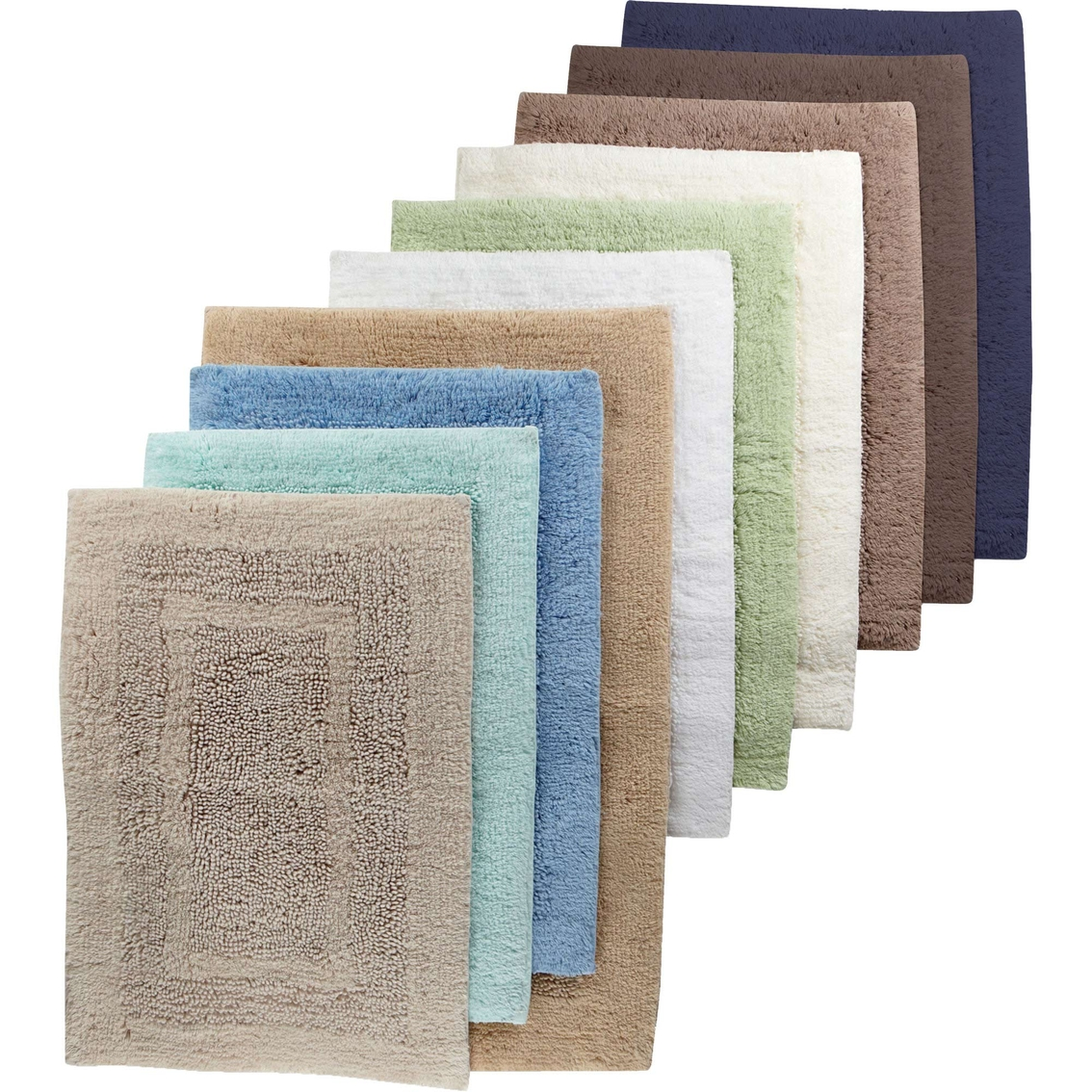 martha stewart collection plush bath rug | bed & bath | clearance