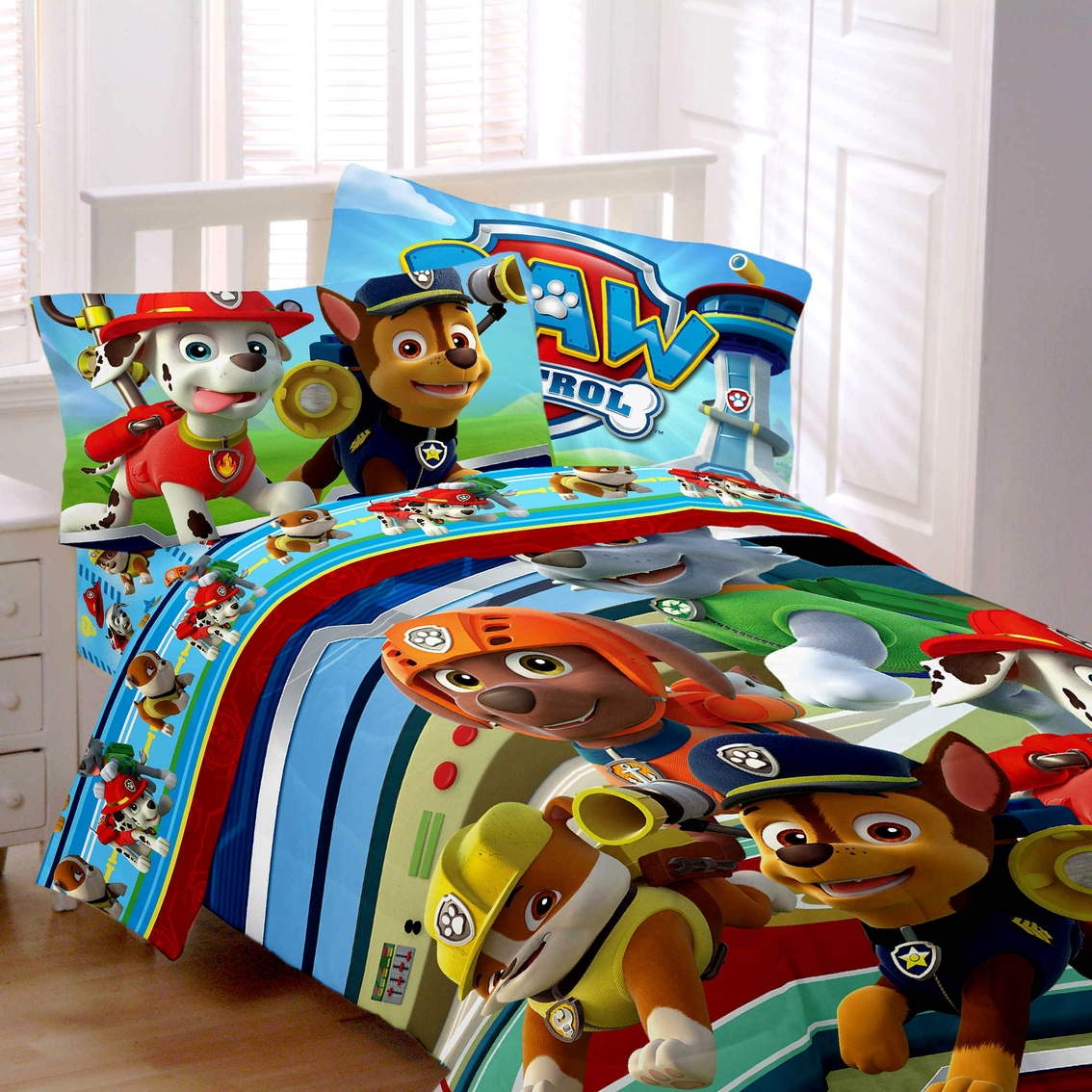 Nick Jr Paw Patrol Puppy Hero Comforter