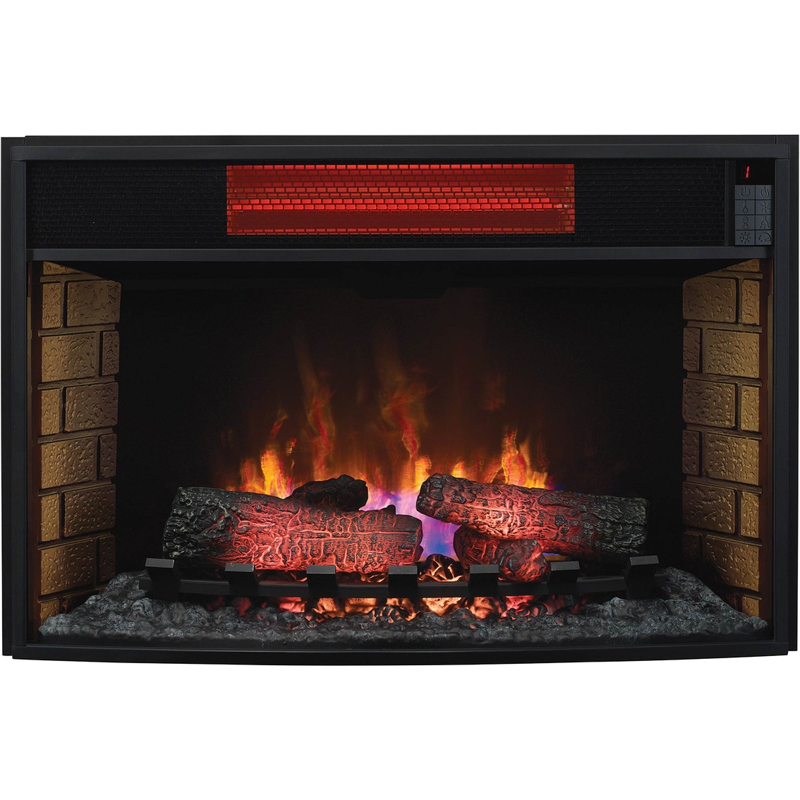 Twinstar Classicflame Electric 33 In Fireplace Insert