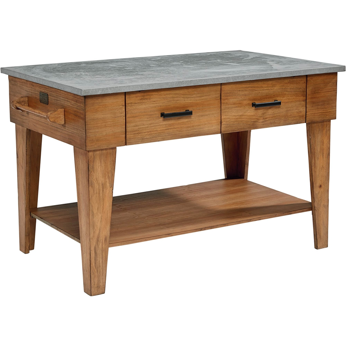 Magnolia Home Kitchen Island Bench Finish Kitchen Carts
