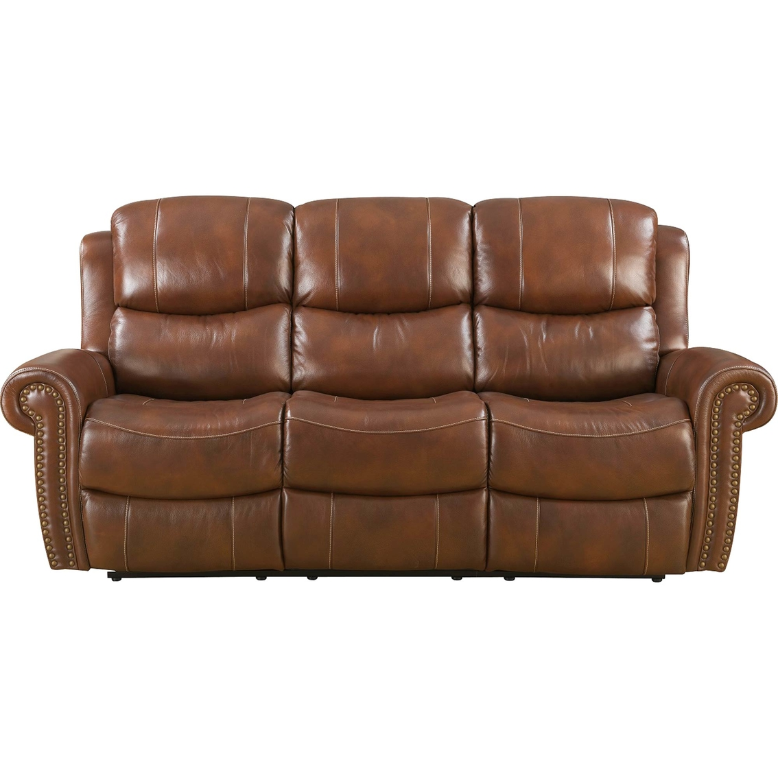 Klaussner Alomar Leather Reclining Sofa Sofas Couches