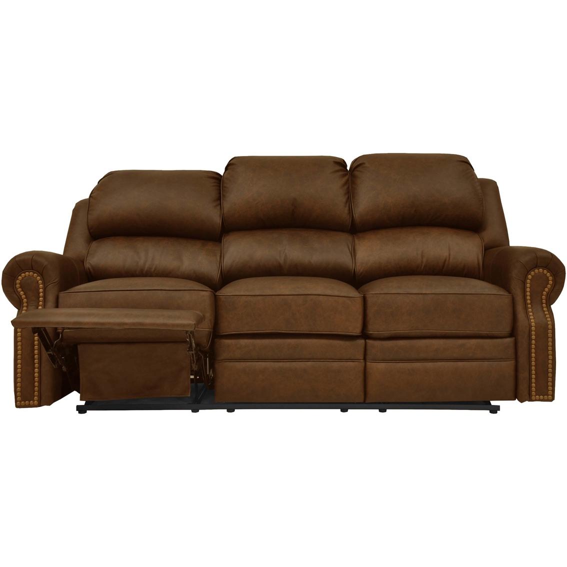 Omnia Leather San Juan Reclining Sofa Sofas Couches