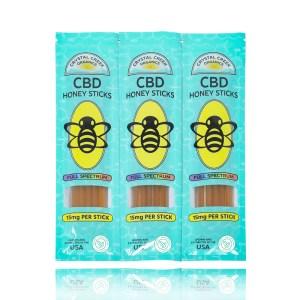 Crystal Creek Organics CBD Honey Sticks