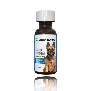Green Roads CBD Drops Medium Dog