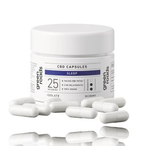 Green Roads CBD capsules sleep Isolate