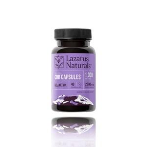 Lazarus naturals CBD Capsules Relaxation