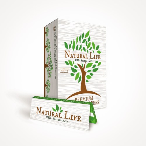 Natural Life - rolling paper 1.25 size
