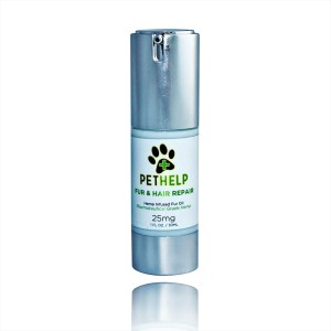 PetHelp fur and hair repair Hemp infused fur oil