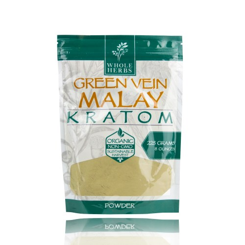 Whole Herbs Kratom Powder Green Vein malay