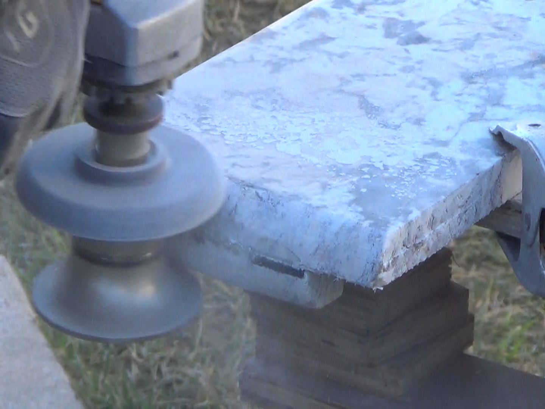 how to create bullnose profile granite