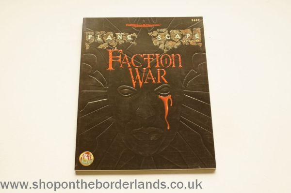 Faction War, softback Planescape adventure for AD&D 2nd/2 ...