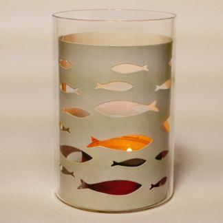 Shoal of Fish Tealight Lantern