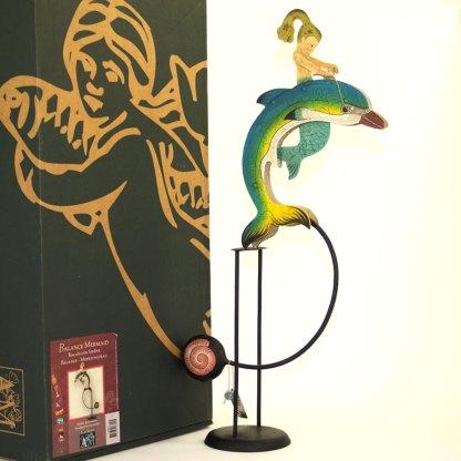 Mermaid Balance Sculpture