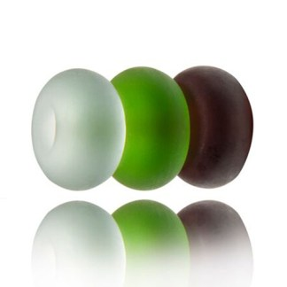 Beachcomber Sea Glass Nalu Spacer Beads