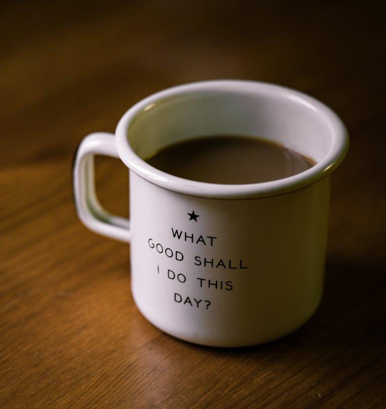 Do good today by Nathan Lemon on unsplash