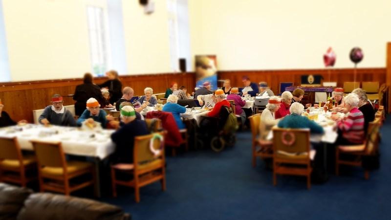 Elderberries Christmas Party