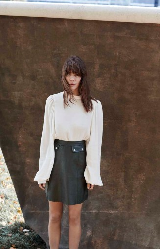 Selected Femme blouse rok collectie