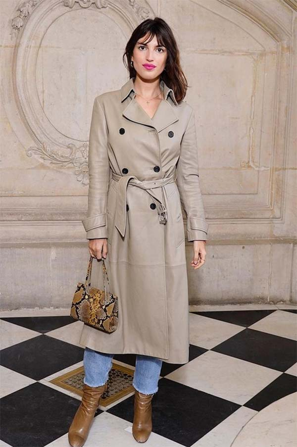 French Style capsule wardrobe essentials trenchcoat