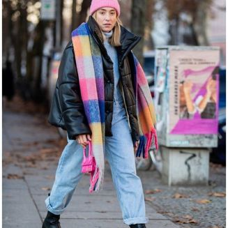 Chunky boots street style