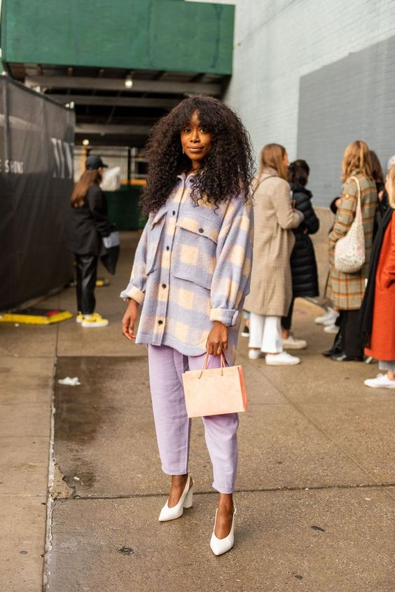 Pastels spring street style trend