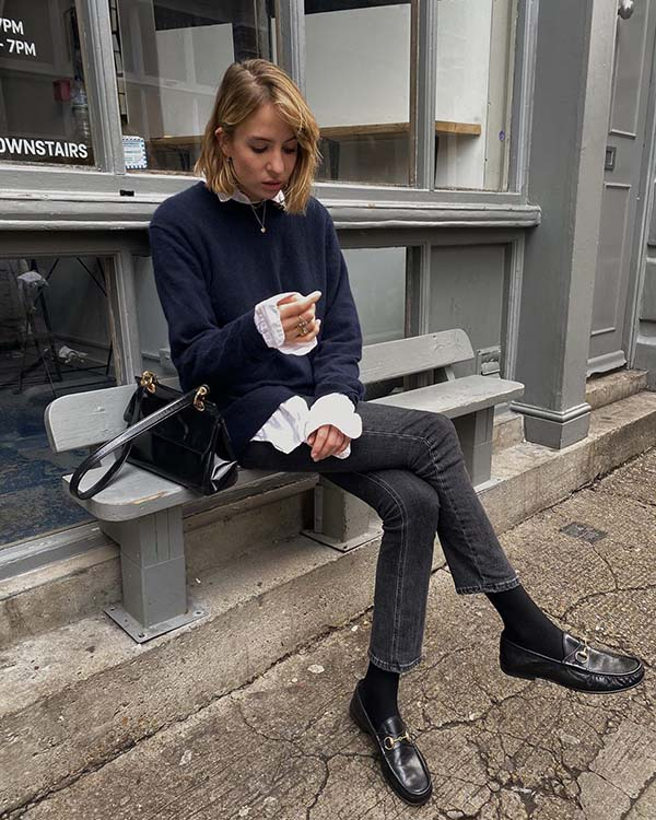 Gucci Loafers trend street style