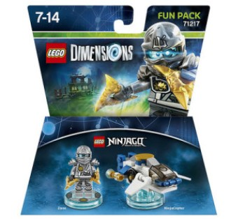 Lego fun pack ninjago zane tesco clubcard points