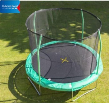 10ft JumpKing Combo Trampoline clubcard boost