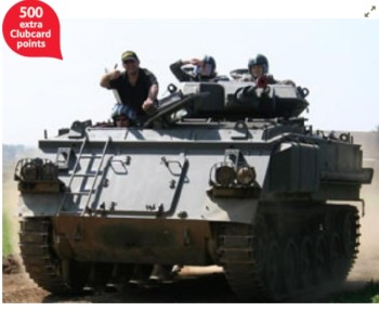 Tank Battle Paintballing