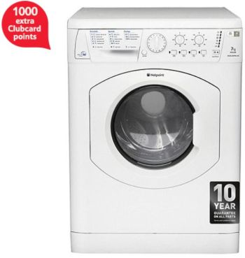 hotppoint washer dryer aquarius 1000 extra clubcard points