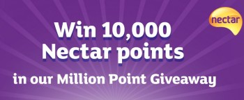win 10000 nectar points with sainsburys entertainment