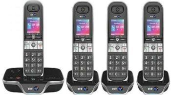 BT 8600 quad telephone 1000 clubcard points