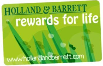 holland and barrett rewards for life card