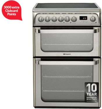 hotpoint-ultima-electric-cooker-with-electric-grill-and-ceramic-hob-hue61x-s-stainless-steel-clubcard-points-tesco