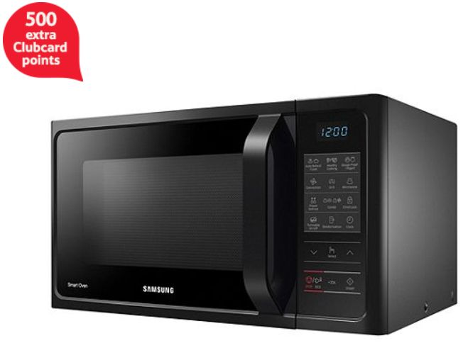 500 Clubcard Points With Samsung Microwave Oven