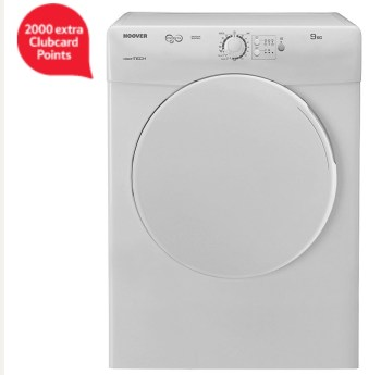 Hoover VTV590NC 9kg Vented Tumble Dryer - White