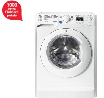 Indesit Innex Washing Machine, XWA 81252X W UK, 8KG load, with 1200 rpm - White