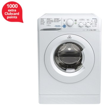 Indesit Innex XWC 61452 W 6kg, 1400 rpm Washing Machine - White