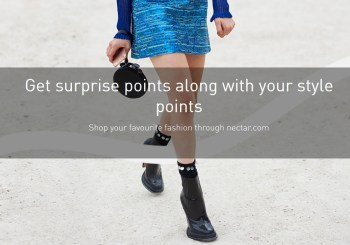 nectar fashion brands double triple bonus nectar points