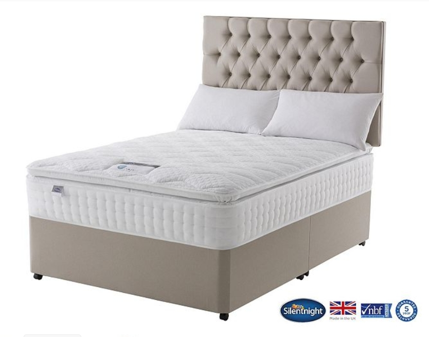 2 000 Clubcard Points With Silentnight Mattress Or Divan