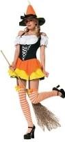 Halloween Wholesale Costumes -WholesaleHalloweenCostumes -Kandy Korn Witch
