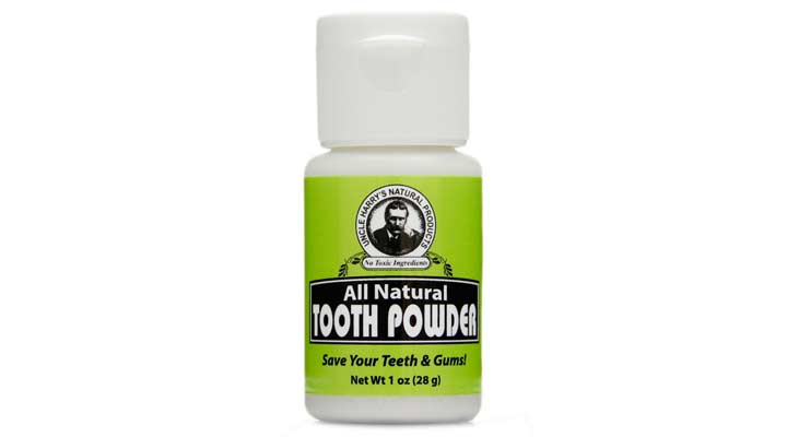 best natural tooth powder