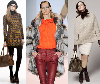 Мода 2009 Зима 2010, Осень Женская одежда, фото. Модные тенденции, модный цвет