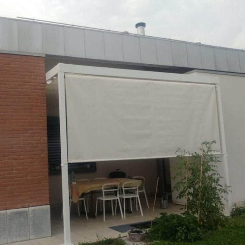 Ombrelloni e vele da sole. Schermi E Protezioni Dimensione 160x300cm Cclife Tenda Da Sole Laterale Alluminio Tenda Paravento Per Esterno Tendalino Per Patio Terrazzo Colore Azzurro Protezione Da Sole Da Giardino Casa E Cucina Ostiabangi Com