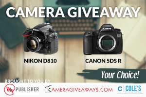 Two camera giveaways contest