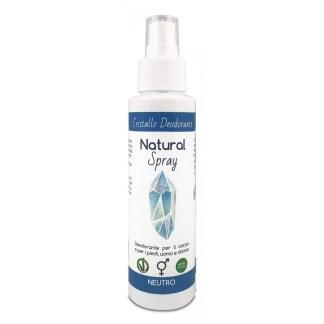 Cristallo deodorante corpo piedi Natural Spray Mist
