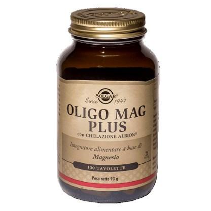 Oligo Mag Plus magnesio Solgar