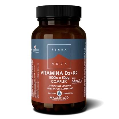 Vitamina D3 + K2 Complex Terranova