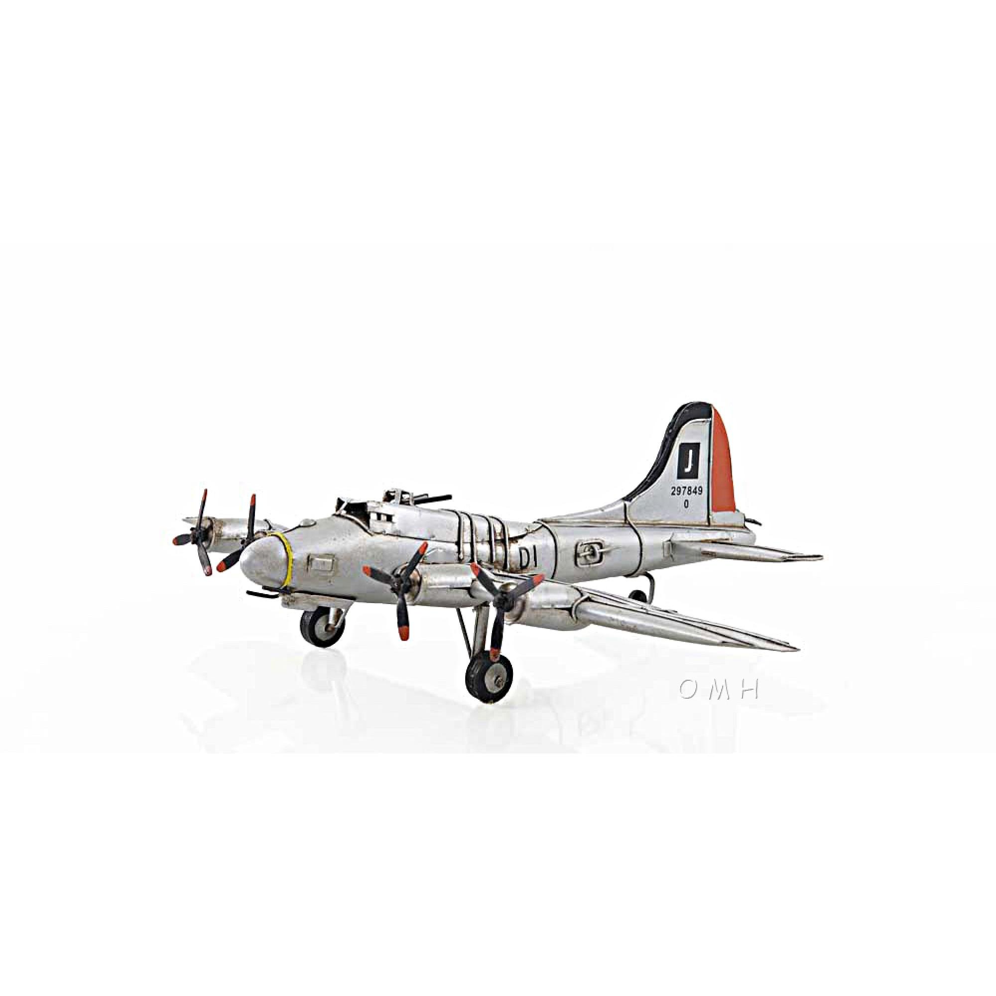 B 25 Mitcheller Scale Model Plane