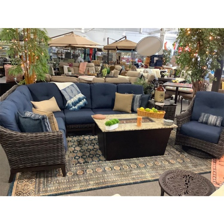 maura sectional by cityscape patio in