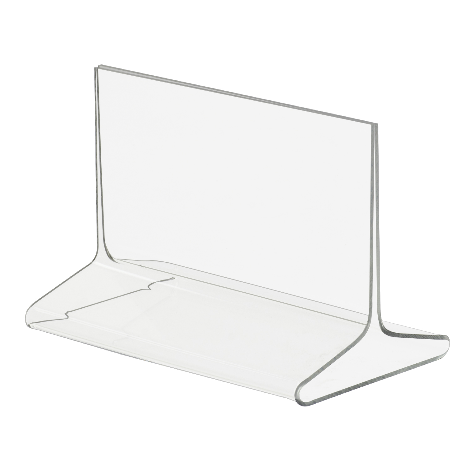 5 5x3 5 Top Loading Double Sided Acrylic Sign Holder